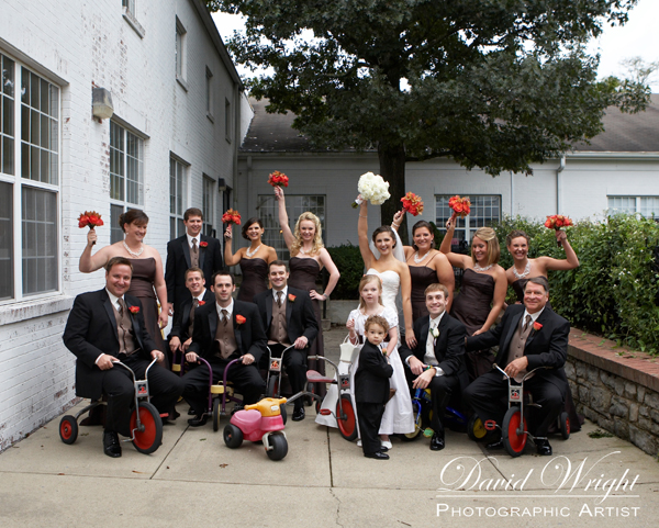 Professional wedding photographers
