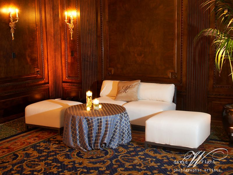 Lounge furniture wedding receptions