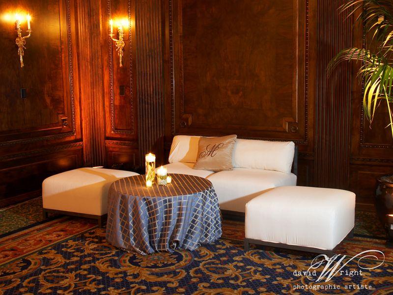 Lounge furniture wedding receptions