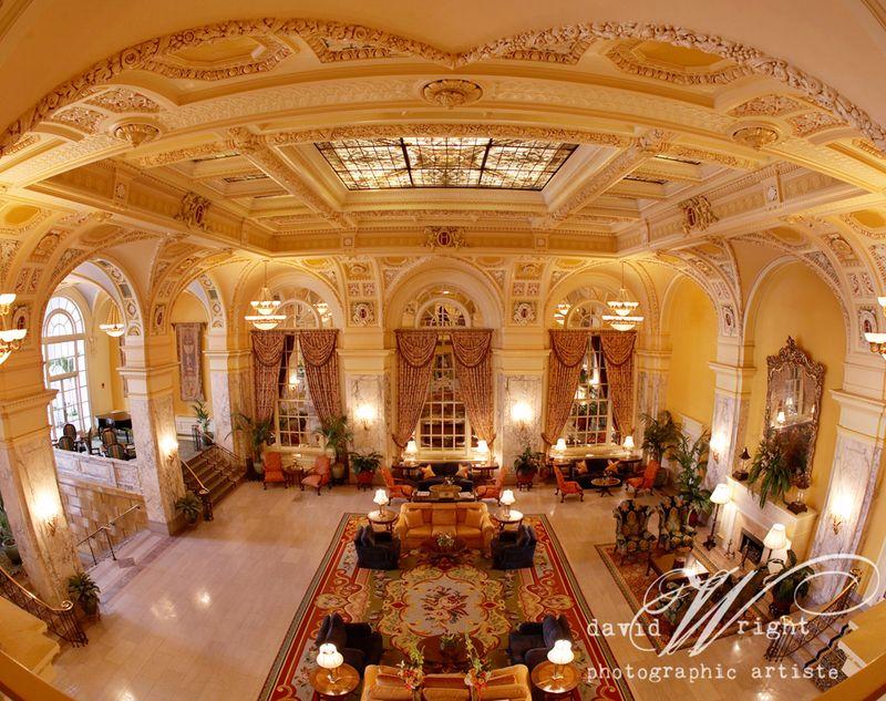 Hermitage Hotel Lobby