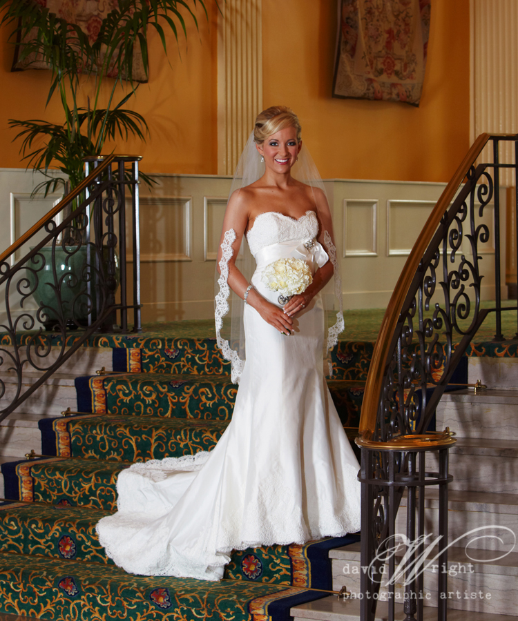 Paloma Blanca gown